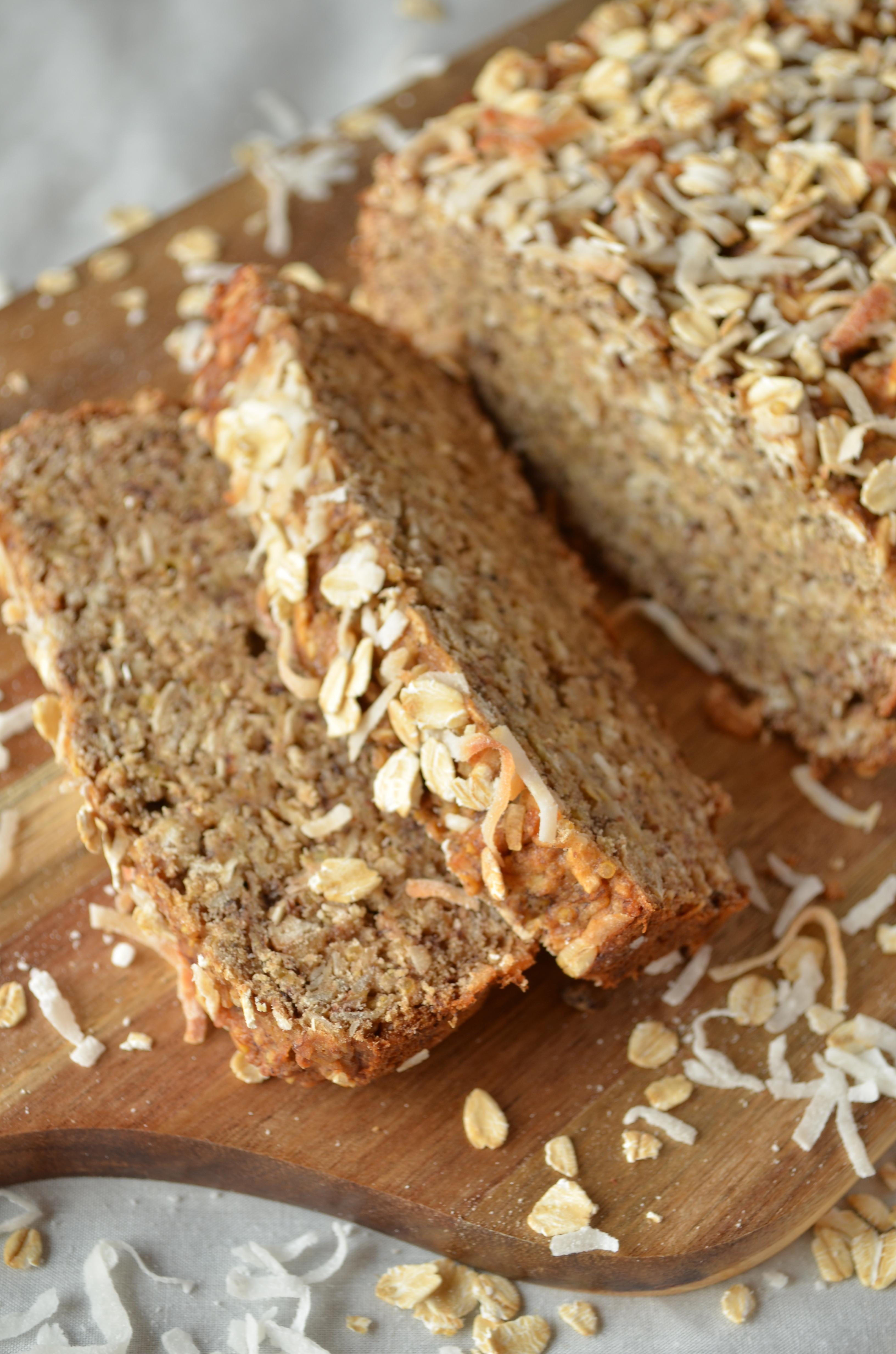 Healthy Vegan Bread  Coconut Quinoa Banana Bread Vegan