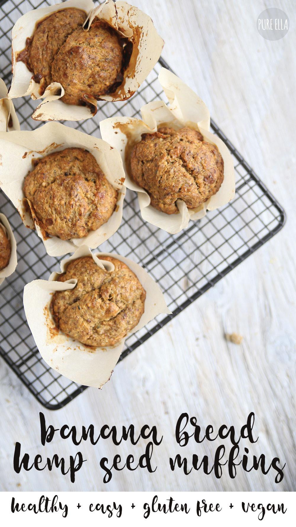 Healthy Vegan Breakfast Muffins  Healthy Vegan Banana Muffins Pure Ella