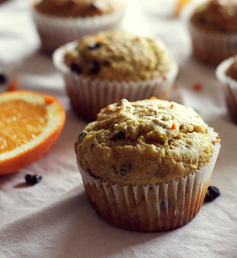 Healthy Vegan Breakfast Muffins  Vegan Muffin Recipes Orange Currant Muffins