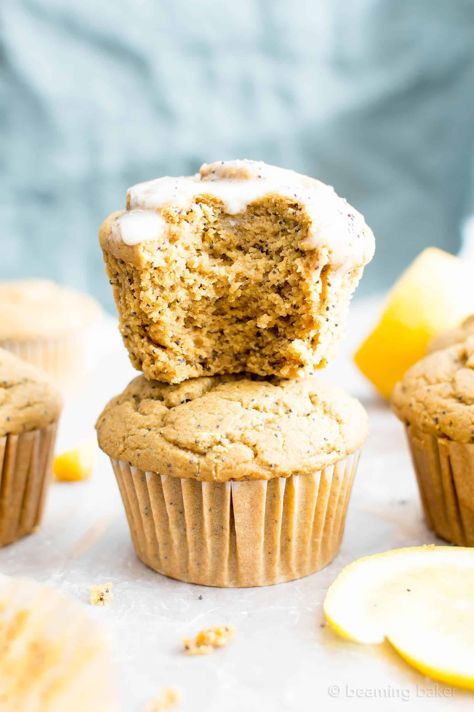 Healthy Vegan Breakfast Muffins  Healthy Lemon Poppy Seed Muffins Recipe Vegan Gluten