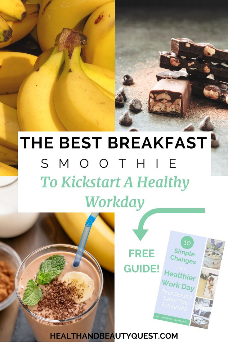 Healthy Vegan Breakfast Smoothies  healthy smoothie recipe breakfast smoothie coffee