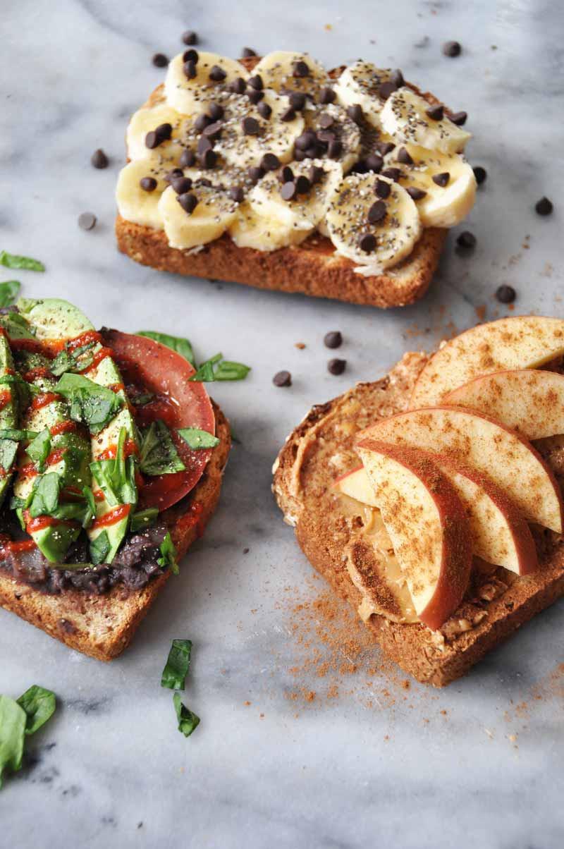 Healthy Vegan Breakfast  Simple Healthy Vegan Breakfast Toast that isn t Boring