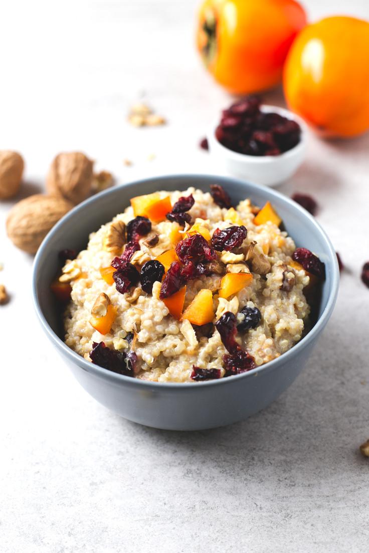 Healthy Vegan Breakfast  Vegan Breakfast Quinoa Bowl Simple Vegan Blog