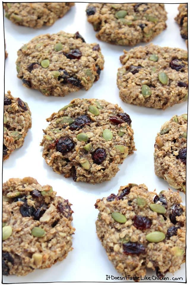Healthy Vegan Breakfast  Healthy Vegan Breakfast Cookies • It Doesn t Taste Like