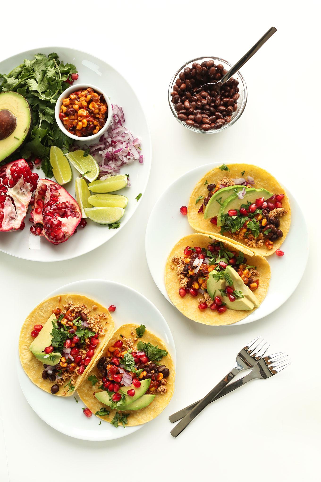 Healthy Vegan Breakfast  Vegan Breakfast Tacos