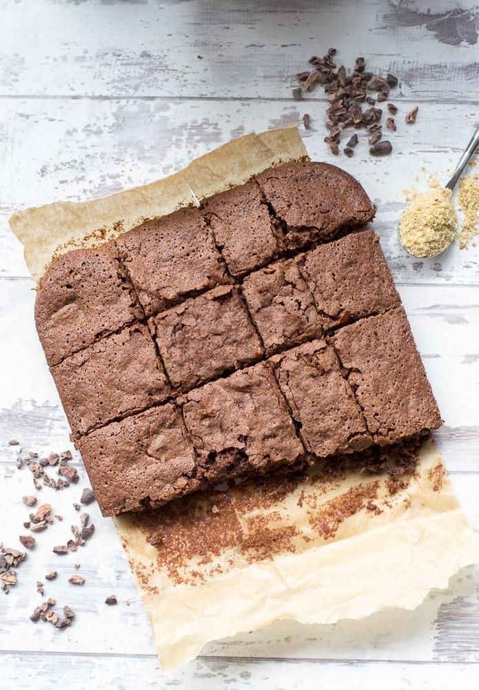 Healthy Vegan Brownies  Healthy Vegan Chocolate Brownies Recipe