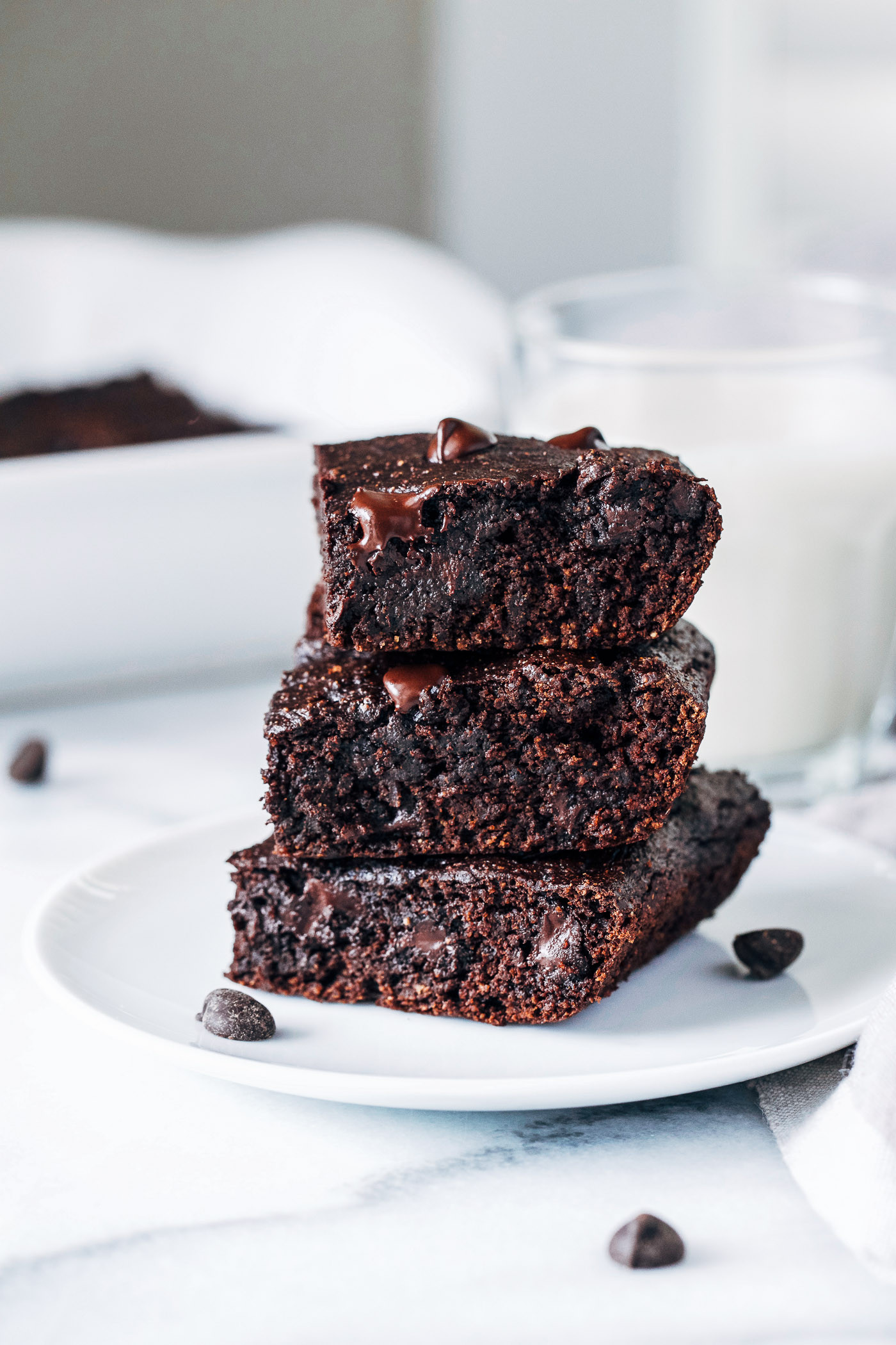 Healthy Vegan Brownies  Vegan Avocado Brownies Making Thyme for Health