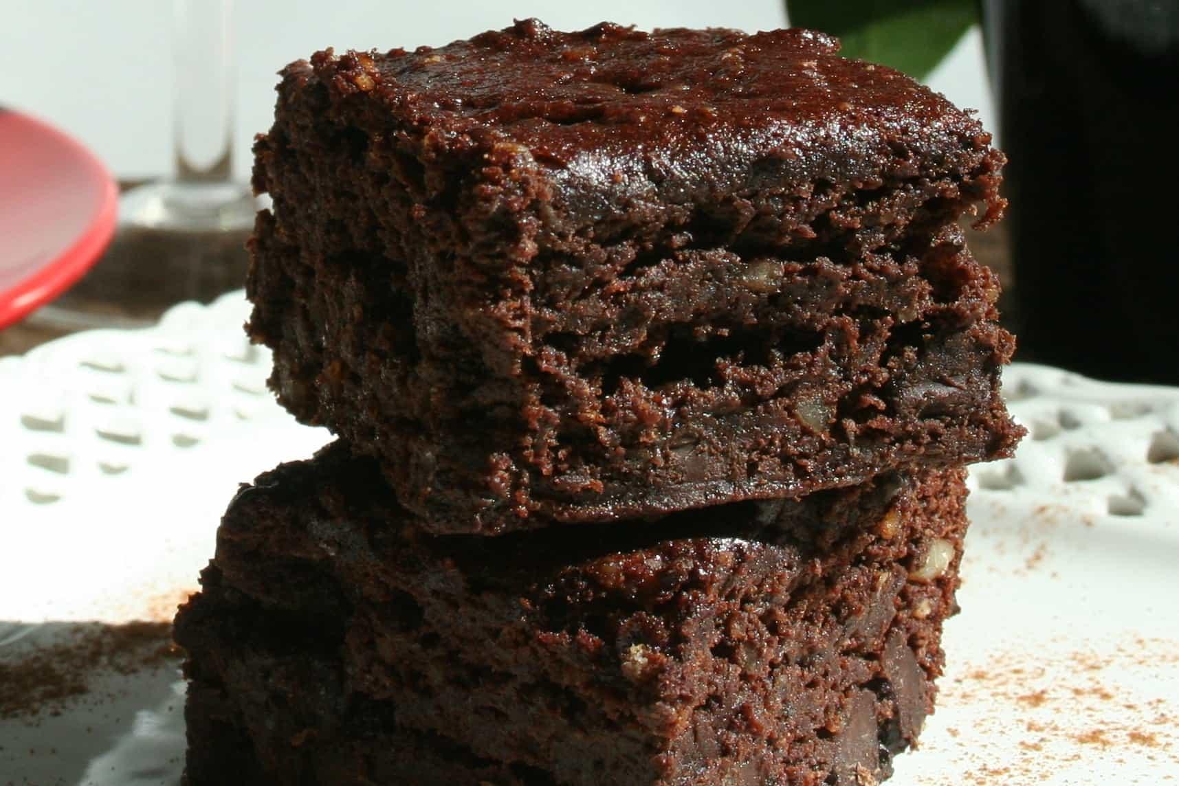Healthy Vegan Brownies  Vegan Brownies Gluten free Oil free Plantivores