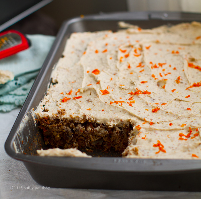 Healthy Vegan Cake Recipes  Vegan Carrot Cake with Cream Cheese Frosting Healthy Dessert