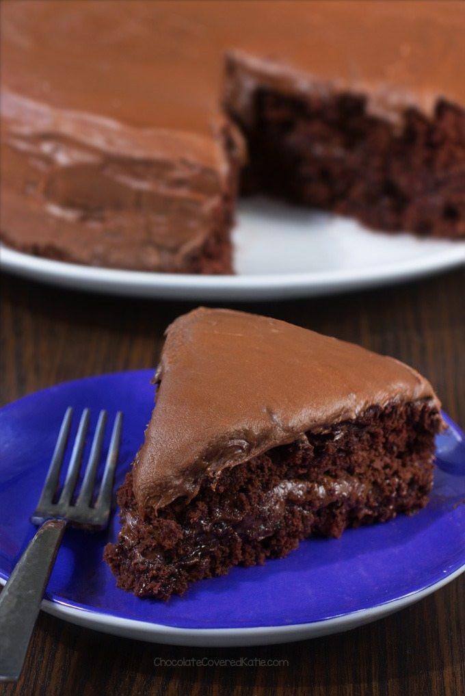 Healthy Vegan Cake Recipes  Vegan Chocolate Cake Non Vegan Approved Recipe