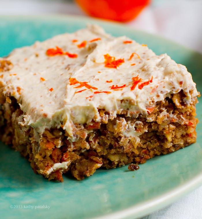 Healthy Vegan Carrot Cake  Vegan Carrot Cake with Cream Cheese Frosting Healthy Dessert