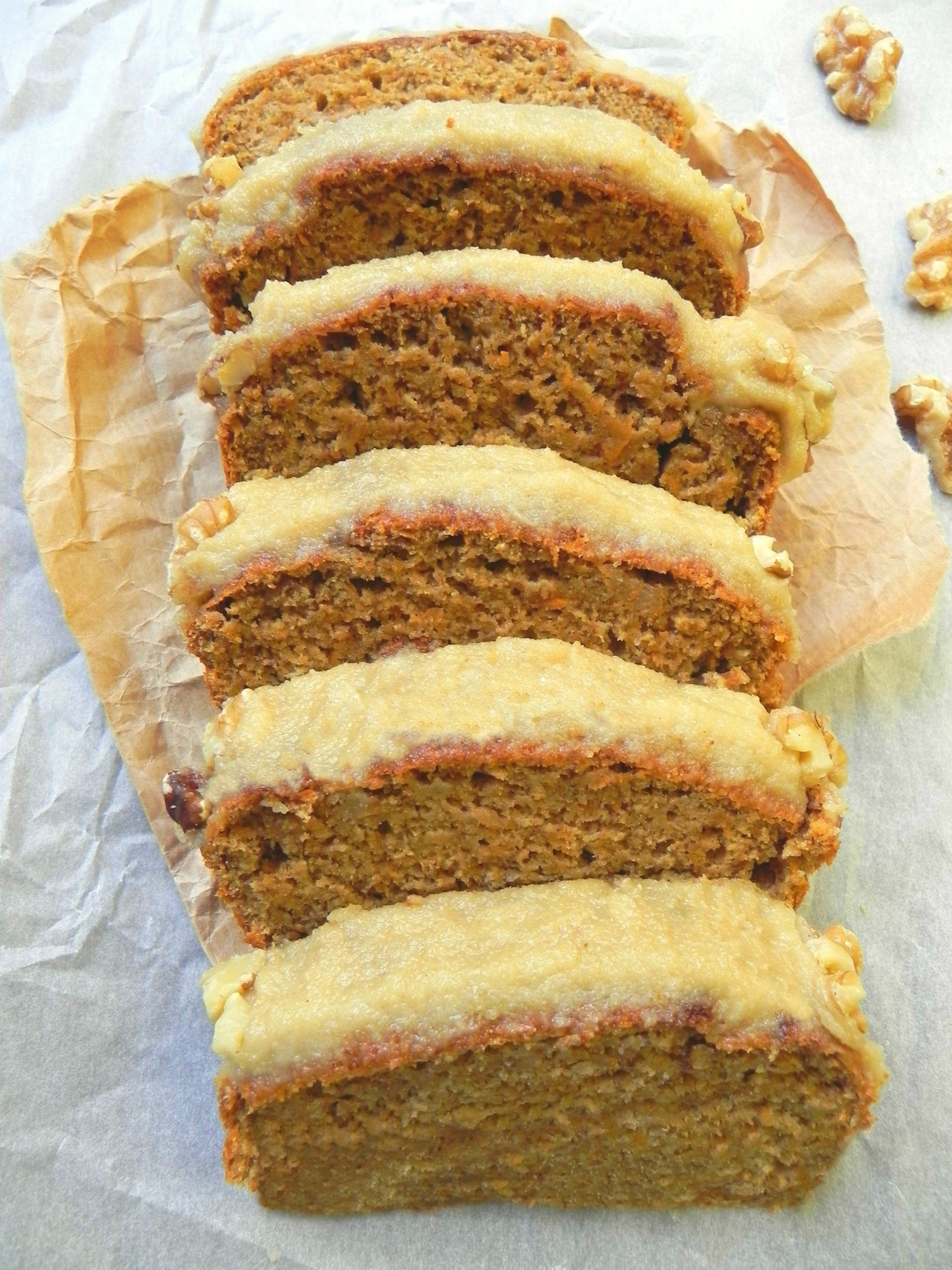 Healthy Vegan Carrot Cake  Healthy Vegan Carrot Cake with Cream Cheese Icing