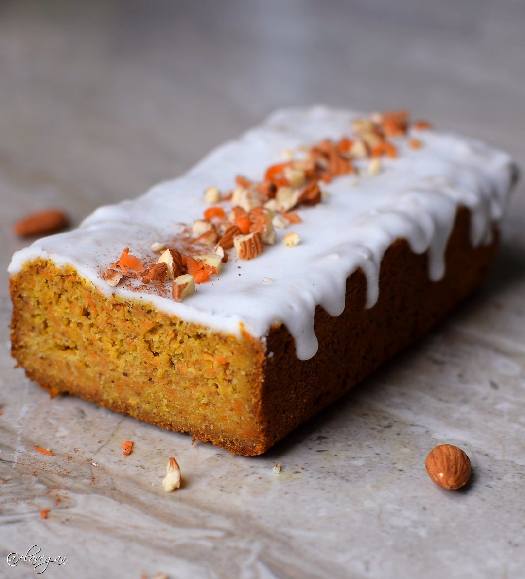 Healthy Vegan Carrot Cake  Vegan gluten free carrot cake recipe