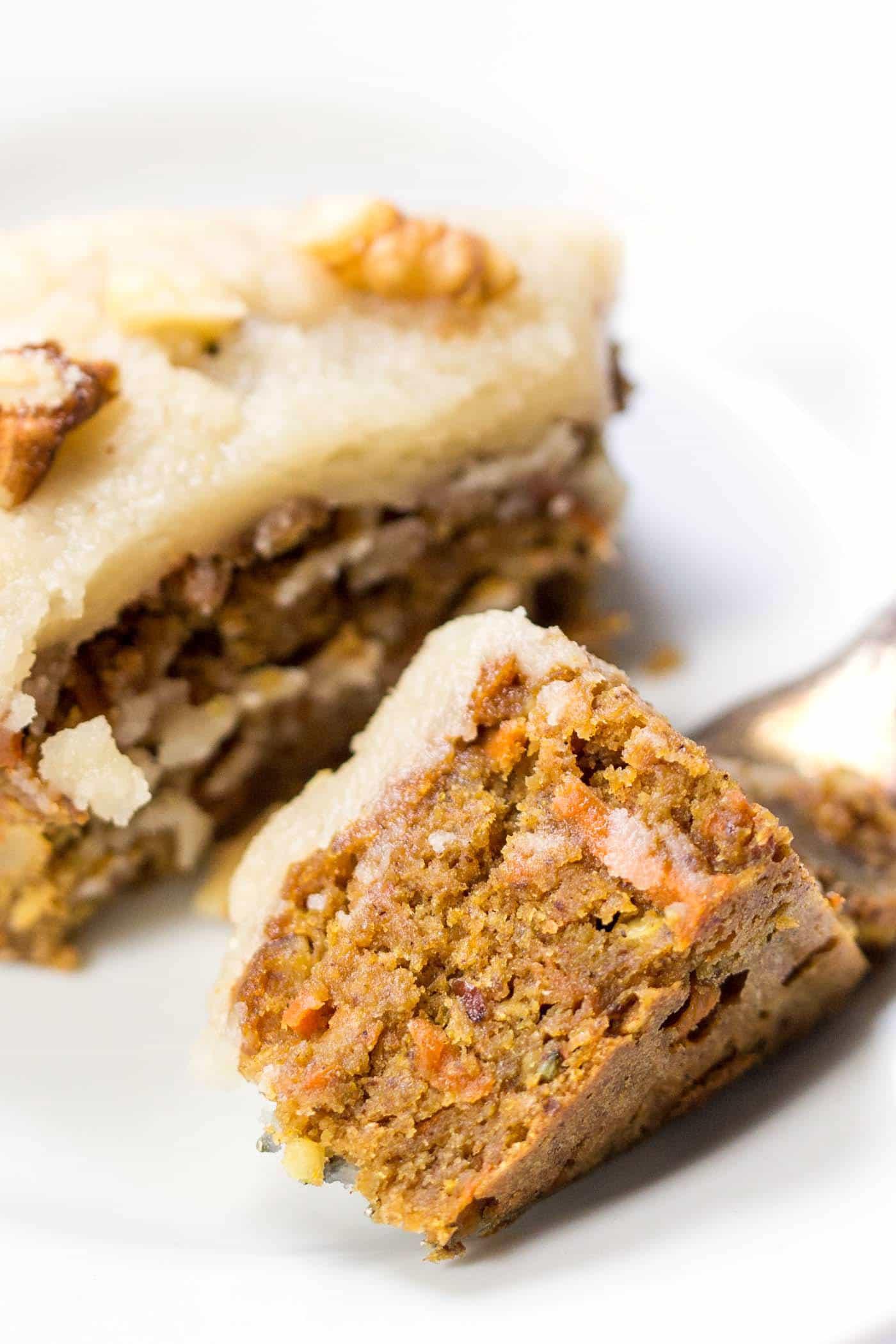 Healthy Vegan Carrot Cake  Vegan Carrot Cake Quinoa Breakfast Bars Simply Quinoa
