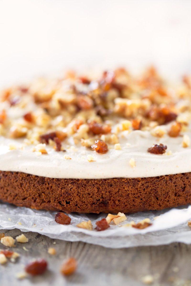 Healthy Vegan Carrot Cake  Vegan Carrot Cake Gluten Free