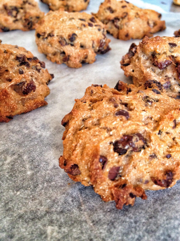 Healthy Vegan Chocolate Chip Cookies  Healthy Vegan Chocolate Chip Cookies Vie De La Vegan