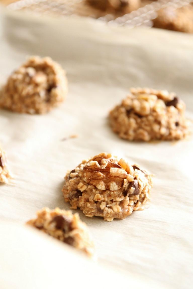 Healthy Vegan Chocolate Chip Cookies  Quick 'n Healthy Vegan Chocolate Chip Cookie Just a Smidgen