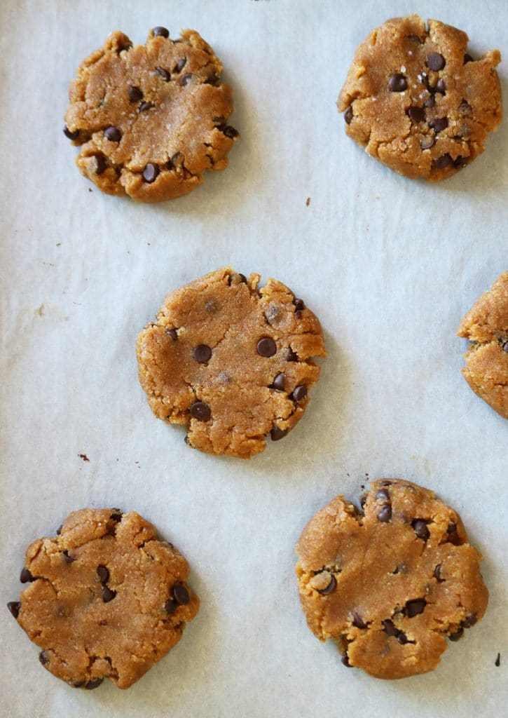 Healthy Vegan Chocolate Chip Cookies  Healthy Vegan Chocolate Chip Cookies