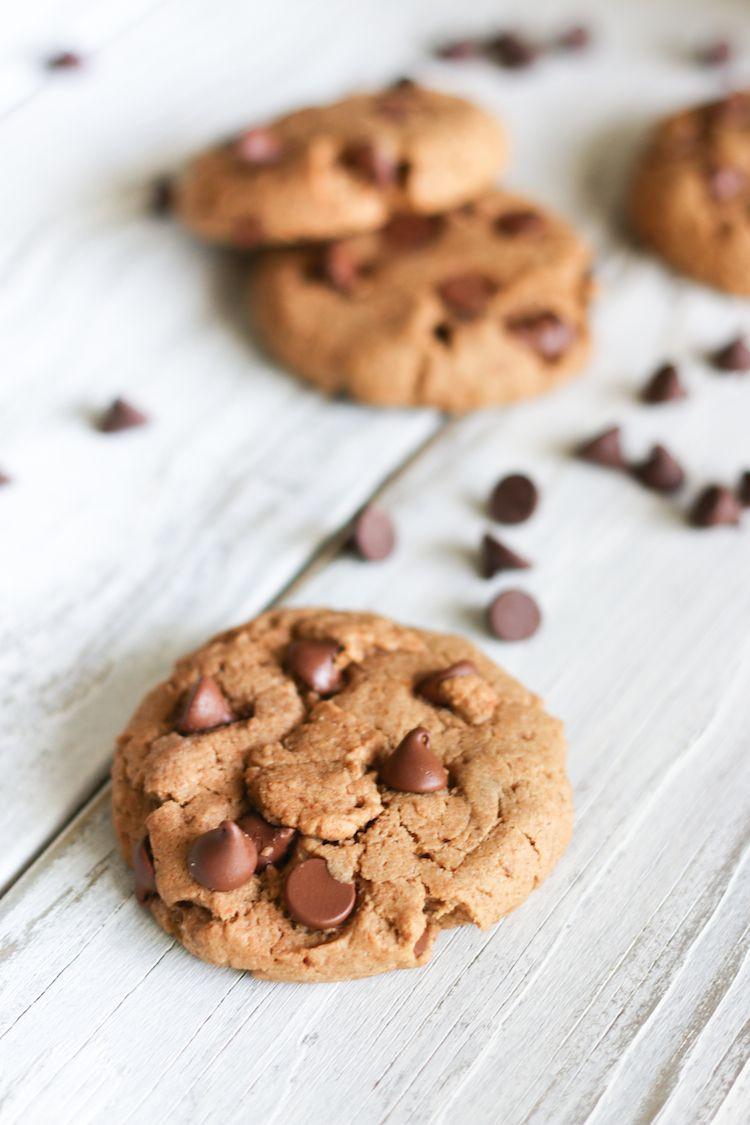 Healthy Vegan Chocolate Chip Cookies  Healthy Vegan Chocolate Chip Cookies Live Simply Natural