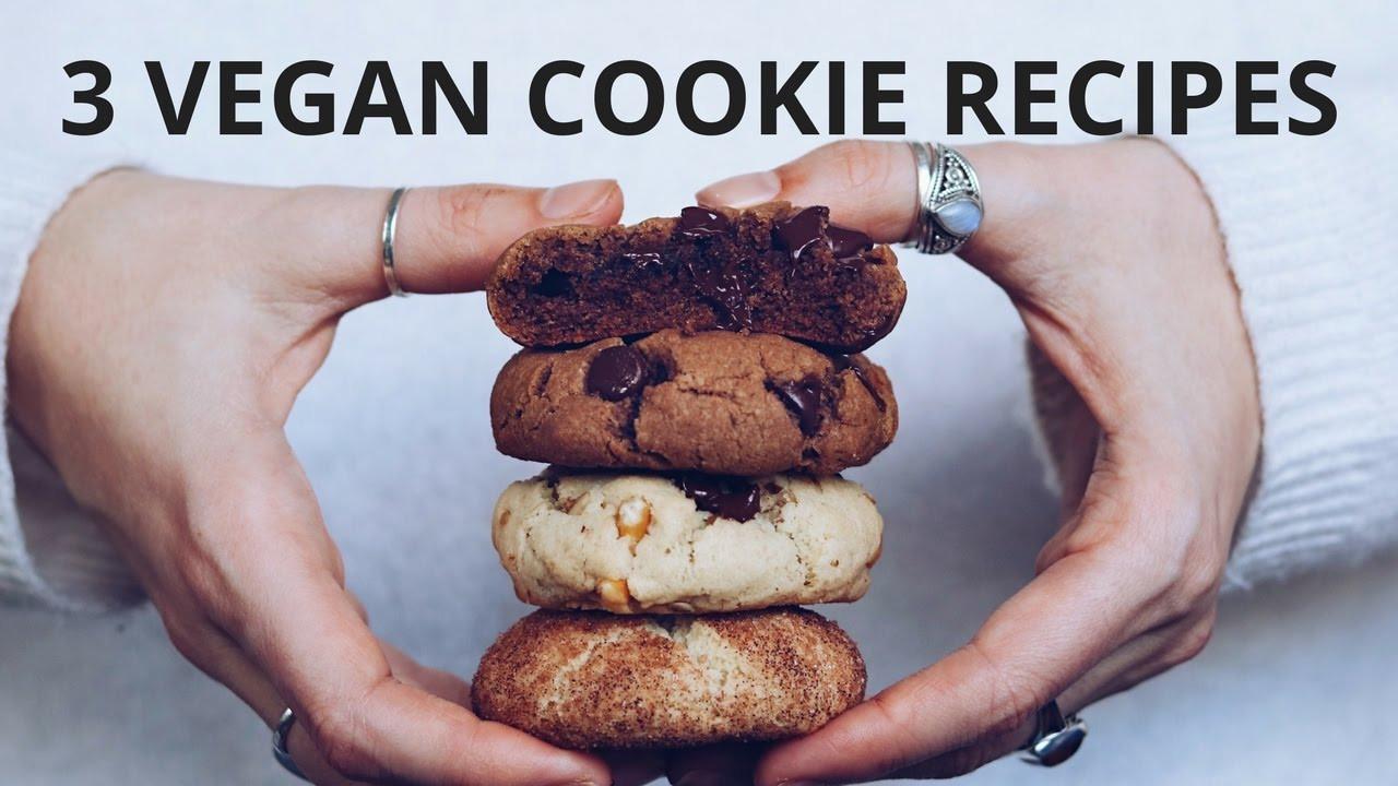 Healthy Vegan Cookie Recipes  EASY VEGAN COOKIE RECIPES Healthy Recipes