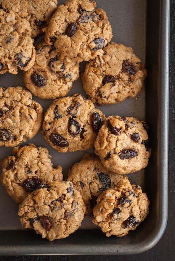 Healthy Vegan Cookie Recipes  Healthy Oatmeal Raisin Cookies Fooduzzi