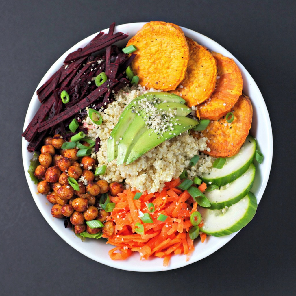 Healthy Vegan Dinner  the balance bowl a healthy meal made easy BeginWithin