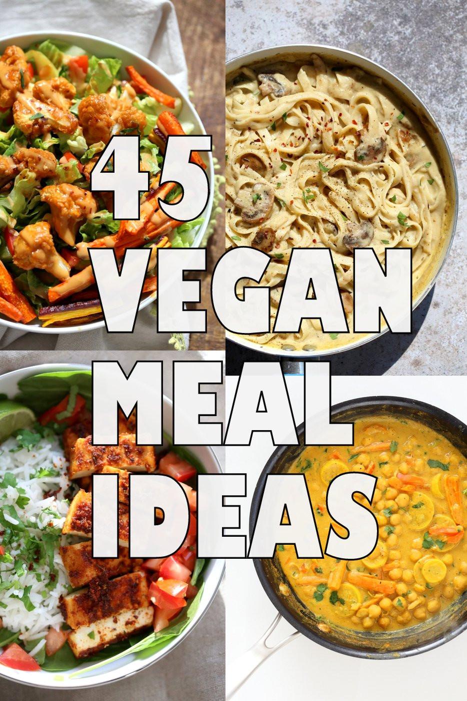 Healthy Vegan Dinner Recipes  45 Healthy Vegan Meals for Veganuary Vegan Richa