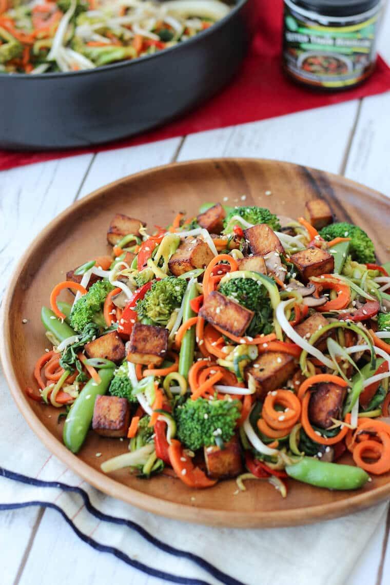 Healthy Vegan Dinner  e Week High Protein VEGAN MEAL PLAN