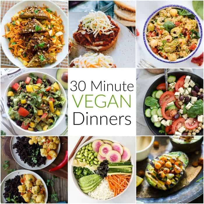 Healthy Vegan Dinners  30 Minute Vegan Dinners Hummusapien