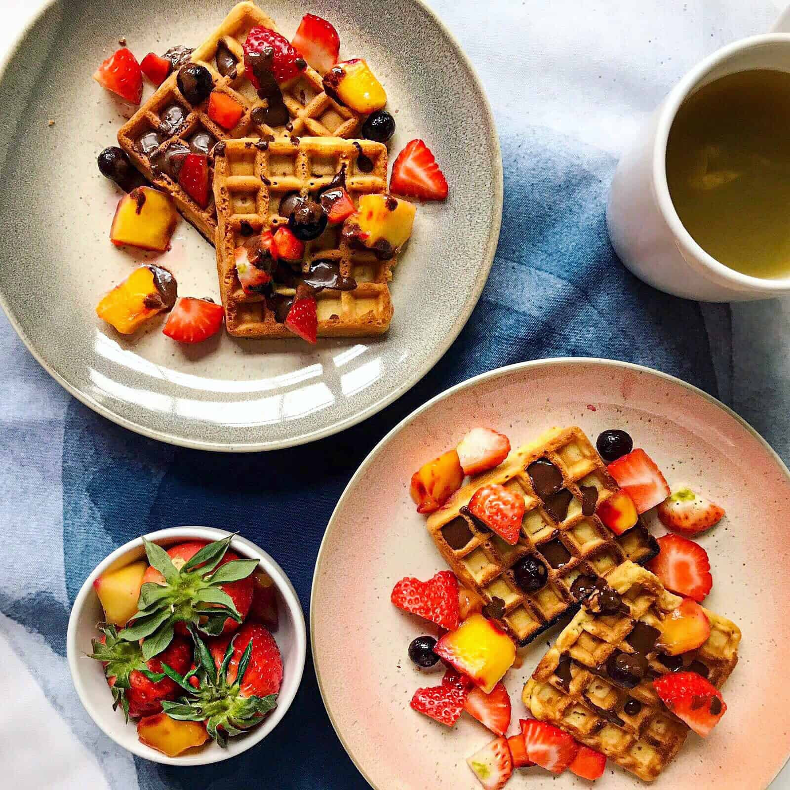 Healthy Vegan Gluten Free Recipes  Healthy Vegan Gluten Free Waffles