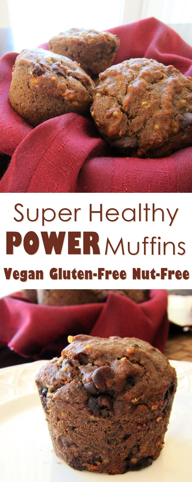 Healthy Vegan Gluten Free Recipes  Healthy Power Vegan and Gluten Free Muffin Recipe