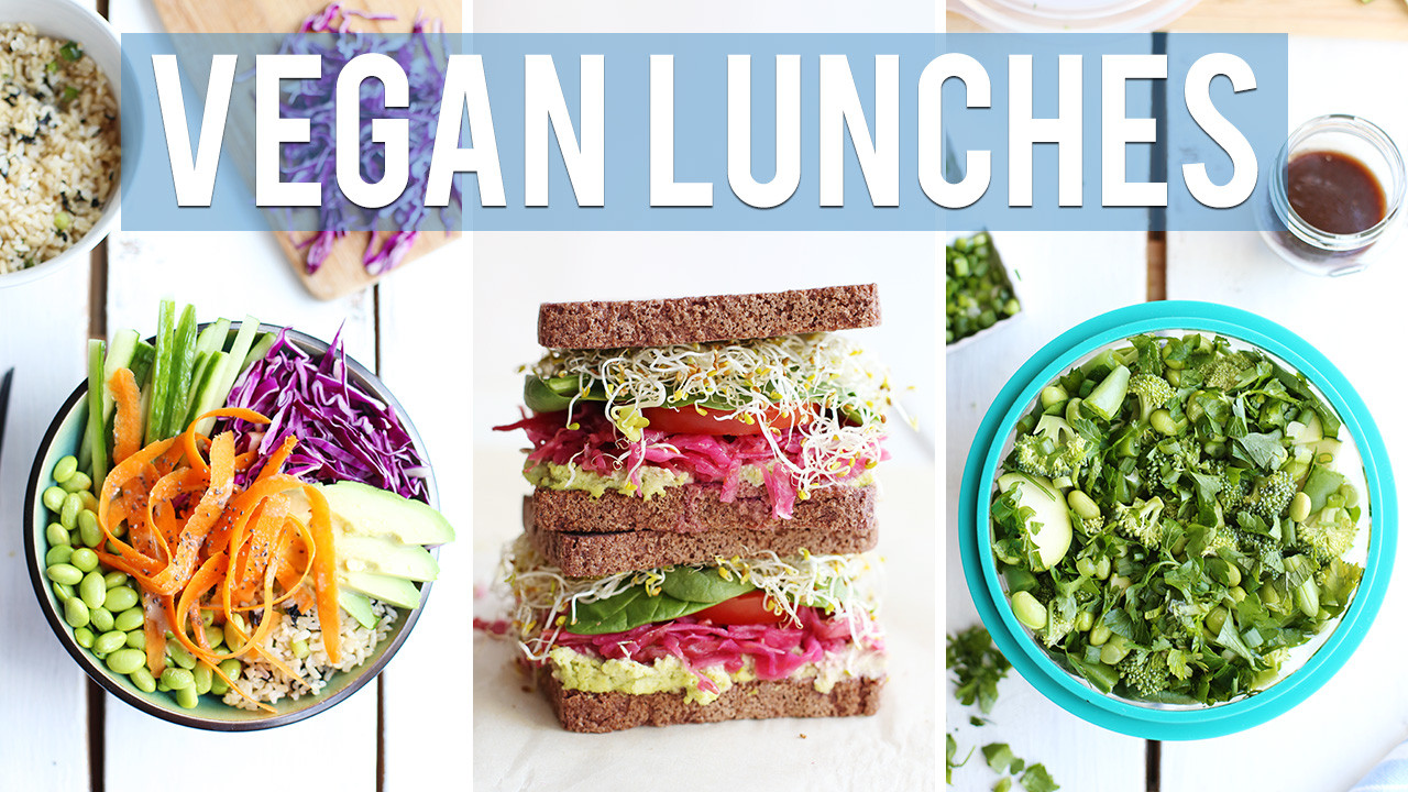 Healthy Vegan Lunches  3 Healthy Vegan Lunch Ideas Fablunch