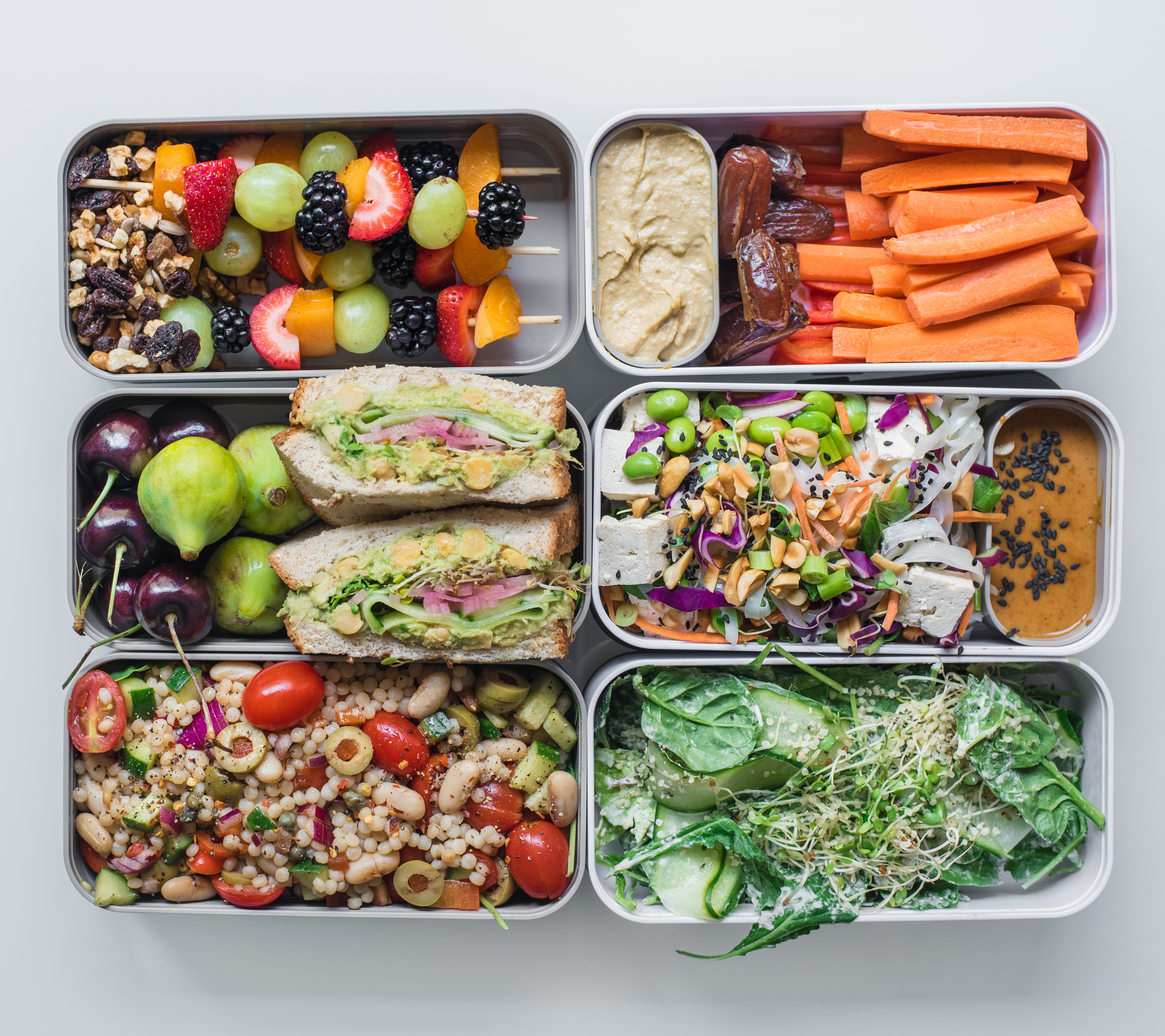 Healthy Vegan Lunches  Back to School Easy Vegan Lunch Ideas Laws of Bliss