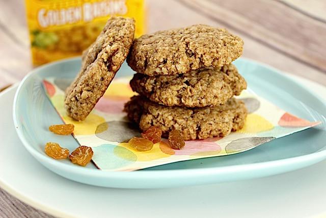 Healthy Vegan Oatmeal Raisin Cookies  Healthy Soft Baked Oatmeal Raisin Cookies gluten free