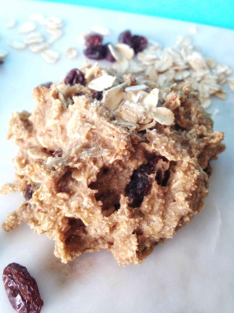 Healthy Vegan Oatmeal Raisin Cookies  Vegan Oatmeal Raisin Breakfast Cookies Beaming Banana