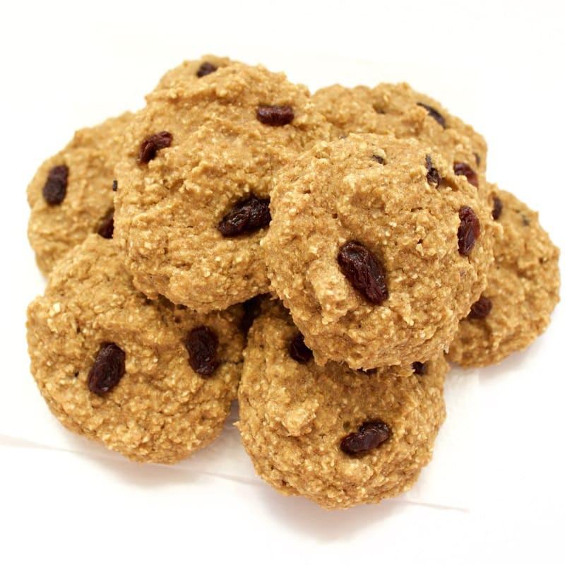 Healthy Vegan Oatmeal Raisin Cookies  Healthy Vegan Oatmeal Raisin Cookies No Added Sugar Oil