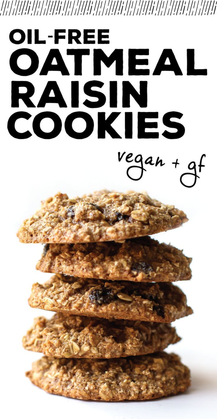 Healthy Vegan Oatmeal Raisin Cookies  17 Best ideas about Vegan Oatmeal Cookies on Pinterest