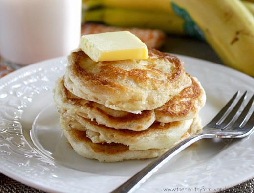 Healthy Vegan Pancakes  Fluffy Vegan Pancakes