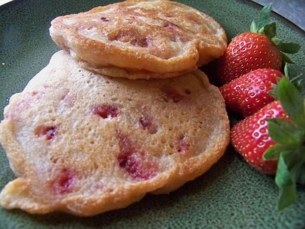 Healthy Vegan Pancakes  Healthy Vegan And Terrific Strawberry Pancakes Recipe