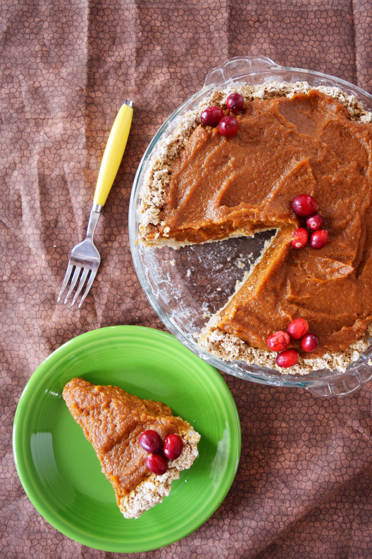 Healthy Vegan Pumpkin Pie  Vegan Pumpkin Pie Beaming Banana