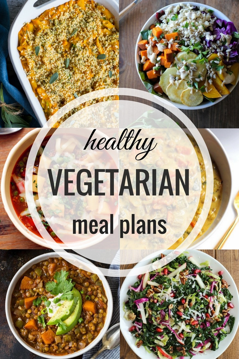 Healthy Vegan Recipes For Dinner  Healthy Ve arian Meal Plan 10 9 16