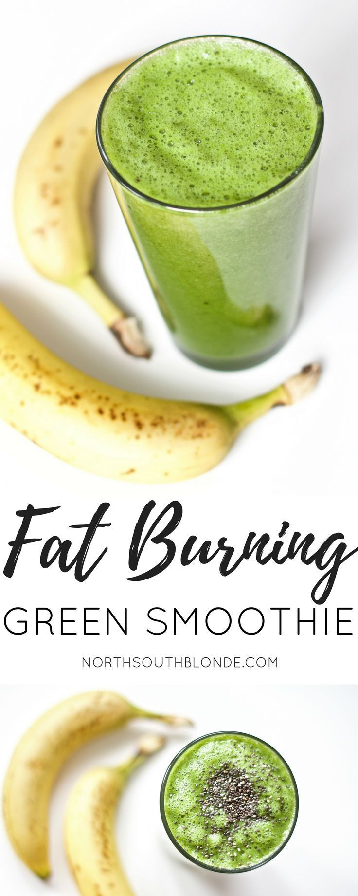 Healthy Vegan Recipes For Weight Loss  Fat Burning Green Smoothie Post Workout Gluten Free