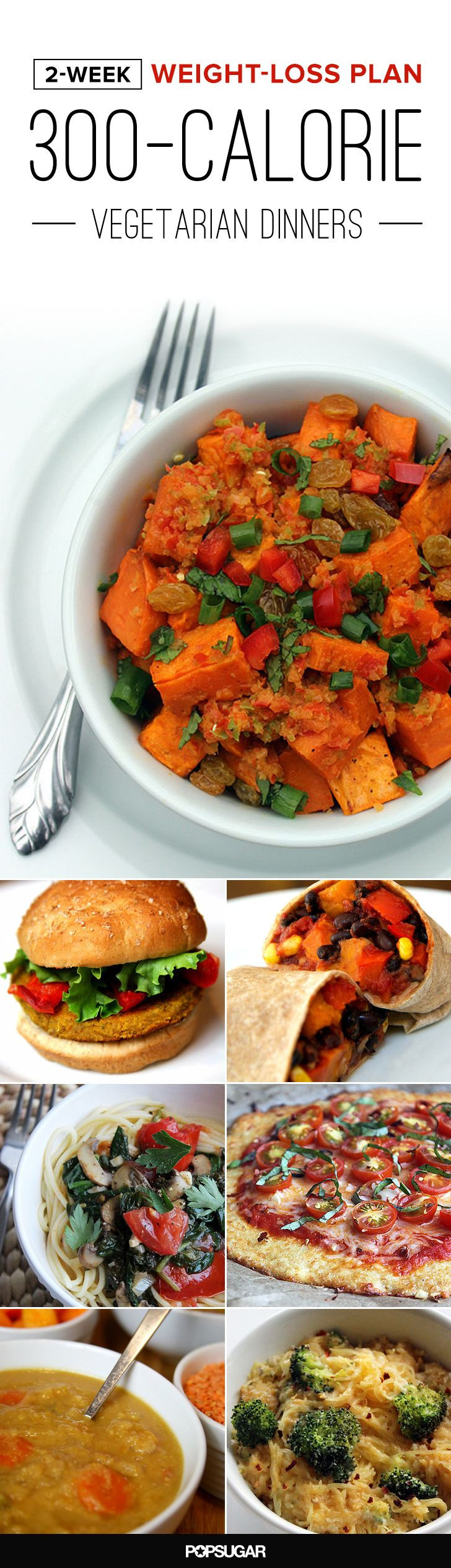 Healthy Vegan Recipes For Weight Loss  2 Week Weight Loss Plan Ve arian Dinners Under 300