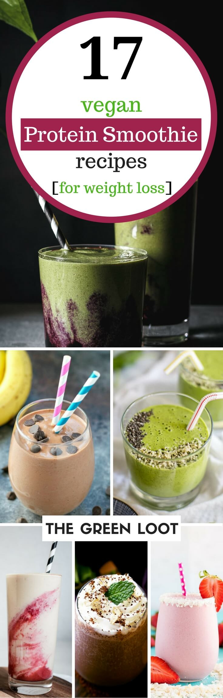 Healthy Vegan Recipes For Weight Loss  17 Tasty Vegan Protein Smoothie Recipes for Weight Loss