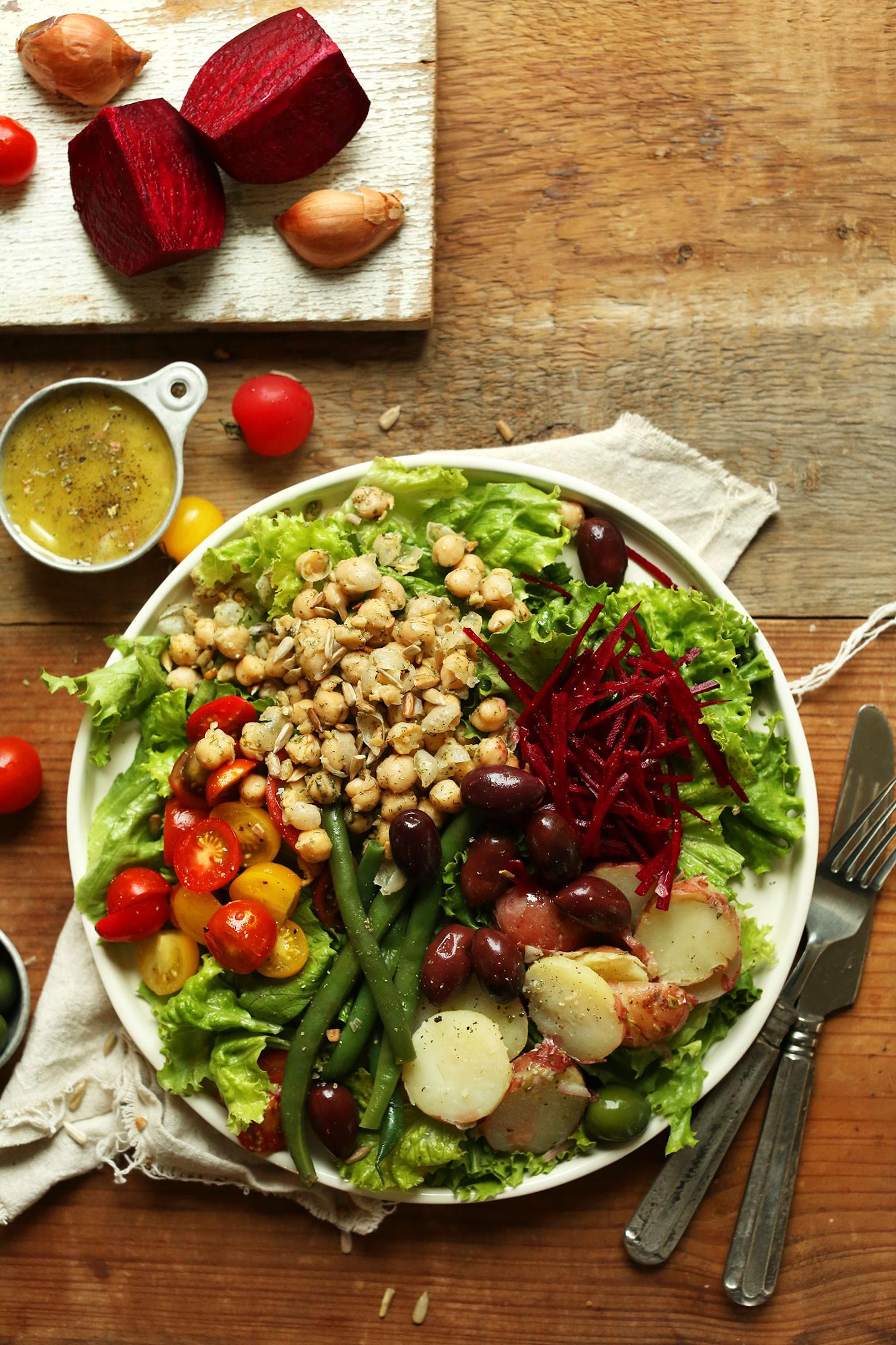 Healthy Vegan Salads  Vegan Nicoise Salad
