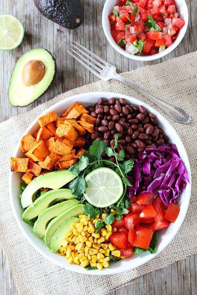 Healthy Vegan Salads  20 5 Star Mexican Dishes to Make Esta Noche