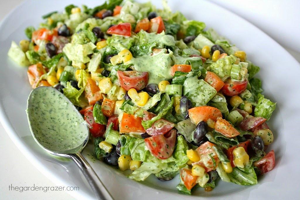 Healthy Vegan Salads  The Garden Grazer Ultimate List of Vegan Mexican Recipes