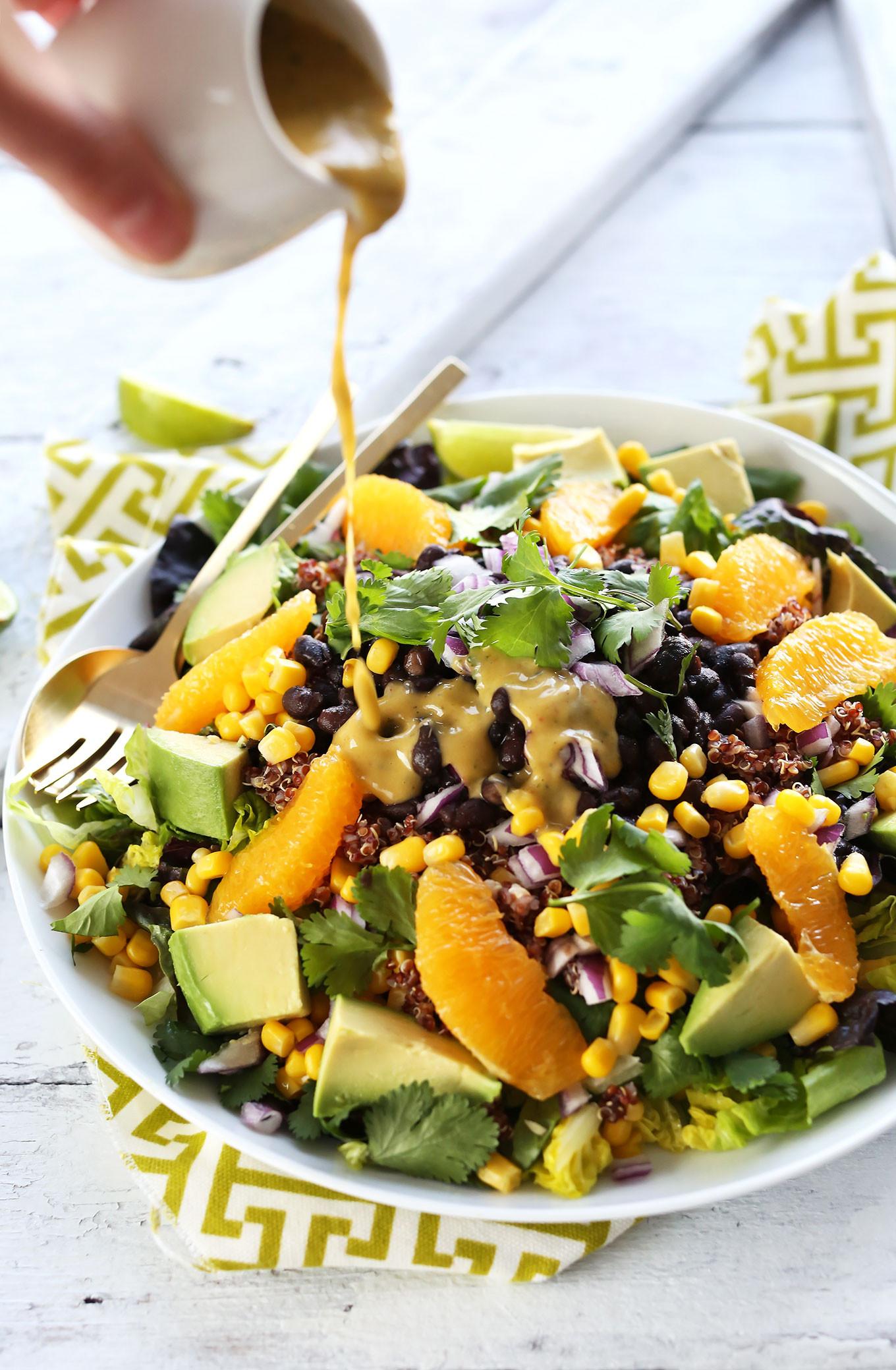 Healthy Vegan Salads  Mexican Quinoa Salad