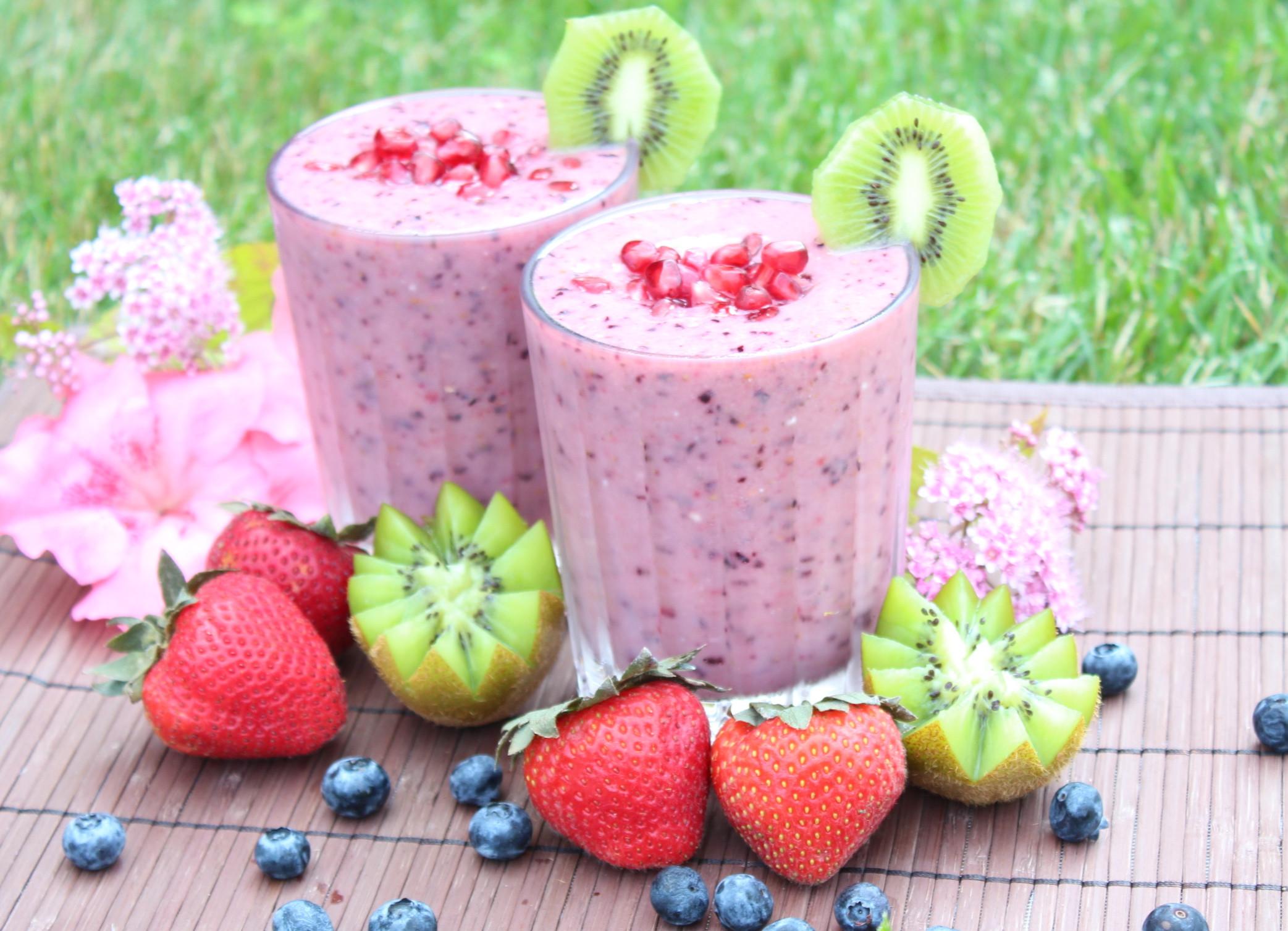 Healthy Vegan Smoothies  5 recettes de smoothies vegan