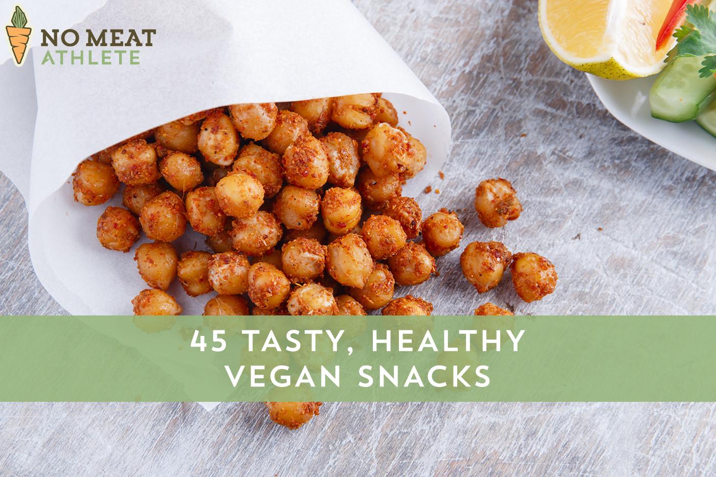 Healthy Vegan Snack Recipes  Vegan Snacks that are Healthy & Tasty